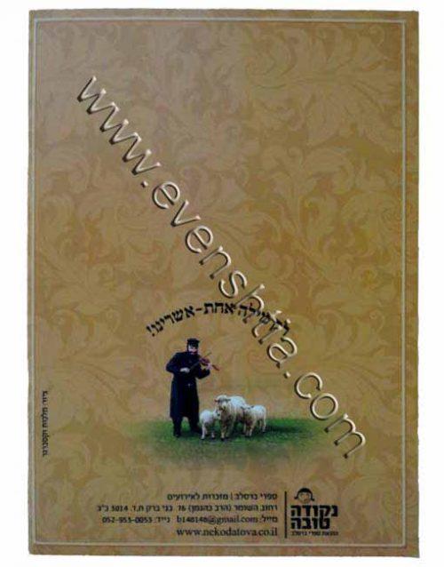 תיקון הכללי עם תיקון חצות פרק שירה ודברי התעוררות - ב ספרי ברסלב