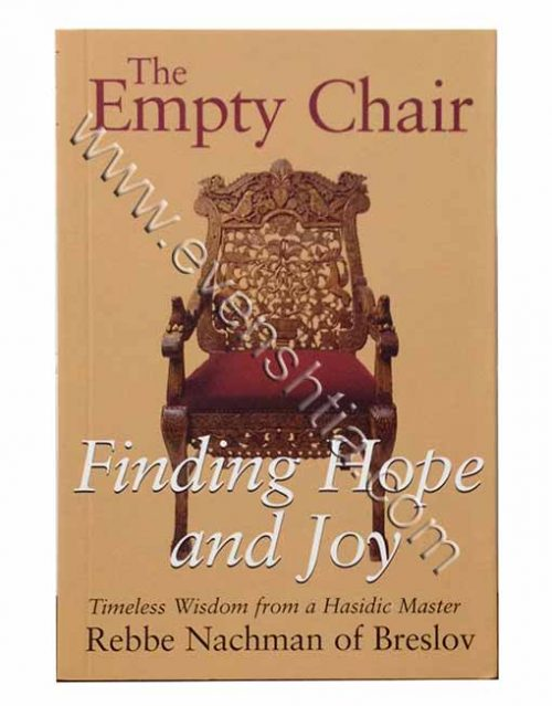 The empty chair English Breslev books