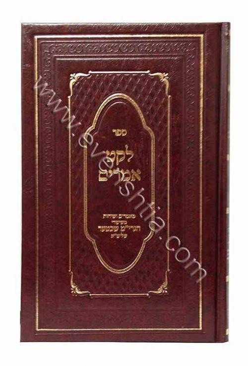 לקט אמרים הרב מאיר שכטער ספרי רבי נחמן מברסלב